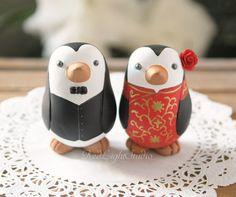 Chinesische Hochzeitstorte Topper  mittlere von RedLightStudio