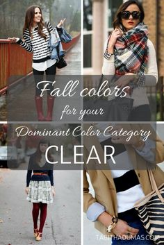 Fall colors for your Dominant Color Category - Tabitha Dumas