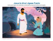 Jesus Is Alive! Jigsaw Puzzle