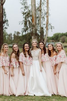 Our Jessy dress is such a beautiful dress. These gorgeous ladies looked stunning in their satin Jessy dress with a floral frill overlay. Rose Pink Dress, Satin Roses, Bridesmaid Dresses, Wedding Dresses, Looking Stunning, Looking For Women, Skirt Fashion, Gorgeous Women, Dress Making