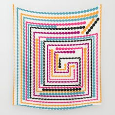 Available in three distinct sizes, our Wall Tapestries are made of 100% lightweight polyester with hand-sewn finished edges. Featuring vivid colors and crisp lines, these highly unique and versatile tapestries are durable enough for both indoor and outdoor use. Machine washable for outdoor enthusiasts, with cold water on gentle cycle using mild detergent - tumble dry with low heat. #homedecor #tapestry @society6