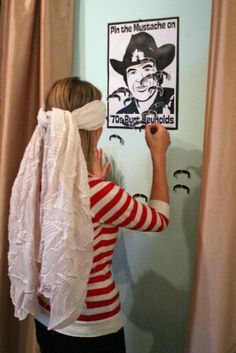 Art Mustache party ideas. moustache-required-circus-themed-house-warming-par