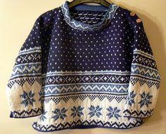 photo tricot modele tricot pull norvegien 5