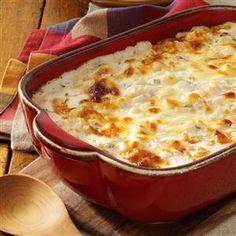 Comforting Potato Casserole Recipe from Taste of Home