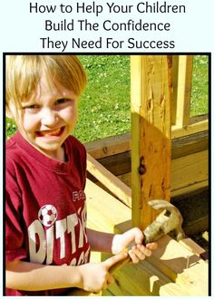 Help Your Children Build Their Confidence - More Than a Mom of Three