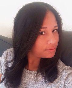 #selfie #nomakeup #retouches #straighthair #kafrine #lareunion #newhaircut #inlove #bestrongbesensitivebemyself by eva_curly_lush