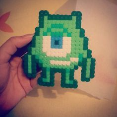 Mike Monsters University  hama beads by bunnyfearless