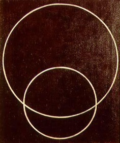 Rodchenko, Alexander - Two Circles - Constructivism - Abstract - Oil on canvas