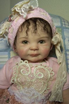 sculpted prosculpt art baby doll (not a reborn)