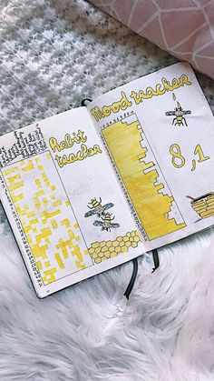 Love this page, such a nice tracker for my bullet journal