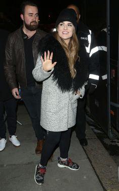 JOANNA JOJO LEVESQUE Arrives at Her Concert in London 01/17/2017