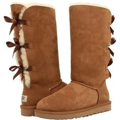 UGG Bailey Bow Tall (Chestnut) Women's Boots