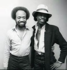 maurice & verdine white of earth wind and fire.