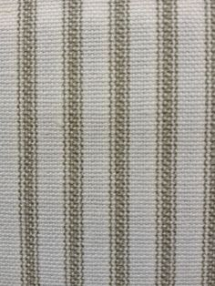 """Our 54-56"""" wide ticking stripe material is available in black/ecru, light…"""