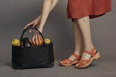 funkis first drop SS16 sandals and vegetable dyed bags