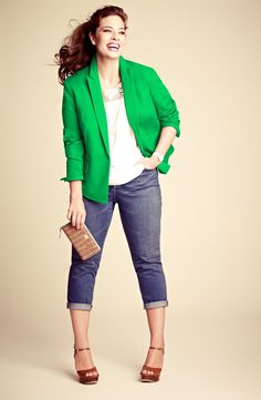 Anne Klein Blazer, DKNYC Top & Two by Vince Camuto Jeans   Nordstrom
