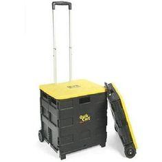 Quik cart 2 wheeled collapsible teacher cart new folding New Free Shipping
