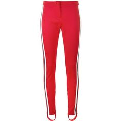 177a26ee5 Gucci high waisted stirrup trousers (745) liked on Polyvore featuring pan -  Gucci Pants
