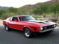 Win a 1972 Ford Mustang Mach 1