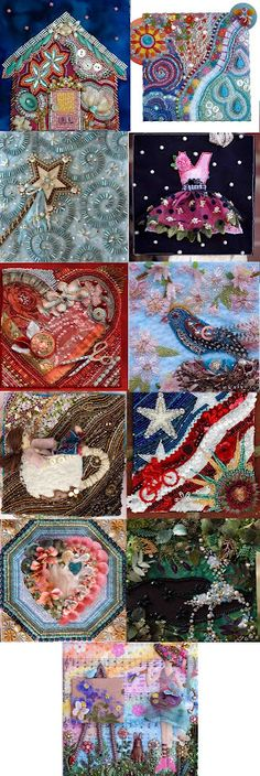 11 Bead Journal Pieces by SUSAN ELLIOTT of Plays With Needles