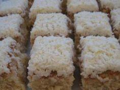 Αγαπημένο γλυκό, που θυμίζει … γιαγιά! Γίνεται πάρα πολύ εύκολα και έχει καταπληκτική γεύση. Υλικά: 6 αυγά 1,5 κούπα αλεύρι 1,5 κούπα ινδοκάρυδο 1,5 κούπα ζάχαρη 1,5 κούπα βούτυρο σε θερμοκρασία δωματίου 1 φακελάκι baking powder ή 3 κ. γ. 2 βανίλιες λίγη καρύδα