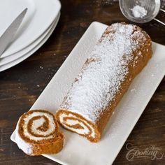 Carrot Cake Roll :: Home Cooking Adventure