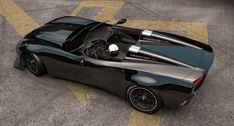 corvette speedster art by Zolland design Volvo Amazon, Corvette C7, Indy Cars, Bike Design, Nascar, Hot Rods, Mustang, Wheels, Ford
