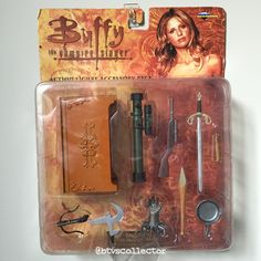 Diamond Select Toys - Buffy the Vampire Slayer Figure - Action Figure Accessory Pack. #btvscollector #btvs #buffy #buffythevampireslayer