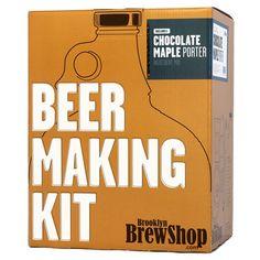 Brooklyn Brew Shop Chocolate Maple Porter Beer Making Kit