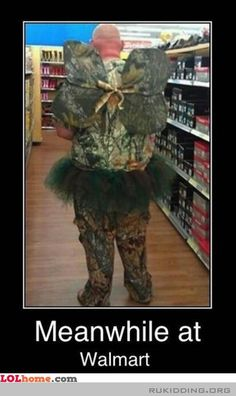 The camo fairy is a very rare sighting... much more rare than the toothfairy at Walmart