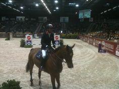 Michel Robert déjà en piste dans la première épreuve du 5*. C'est à Bordeaux !