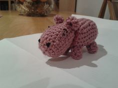Heather Hippo  (Crochet)