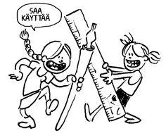 Tarinakaava (Solja Järvenpää ja Jupu Kallio), in Finnish Teaching, Comics, Fictional Characters, Comic Book, Cartoons, Fantasy Characters, Comic Books, Teaching Manners, Learning