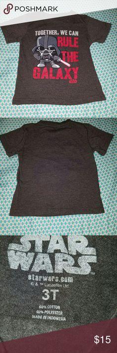 Starwars Darth Vader Toddler 3t top Darth Vader Toddler top Shirts & Tops Tees - Short Sleeve