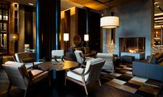 The Wine & Cigar Library | The Chedi Andermatt | Luxury Hotel Switzerland | GHM hotels
