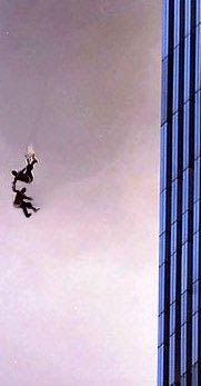9/11: I didn't realize that there were an estimated 200 jumpers from the WTC. Those poor, poor people...