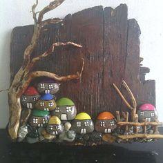 #ağaç #dal #tahta #köy#taş #ev
