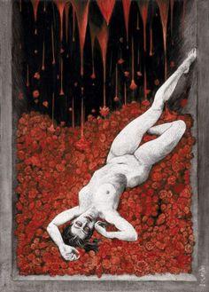 La Condesa Sangrienta  written by Alejandra Pizarnik illustrated by Santiago CARUSO