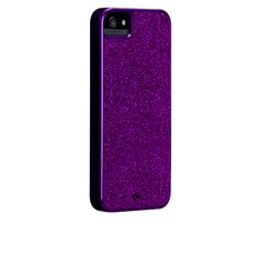 Violet Purple Case-Mate iPhone 5 Glam Cases....I'm in love need this