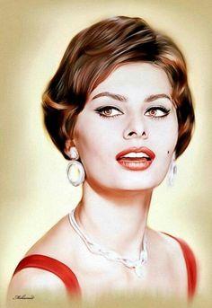 """Sophia Loren"" - Ebn Misr"