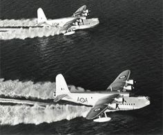 Image used to illustrate the details of the Short Sunderland Long-Range Maritime / Reconnaissance Flying Boat Amphibious Aircraft, Navy Aircraft, Ww2 Aircraft, Military Aircraft, Flying Ship, Flying Boat, Pembroke Dock, Short Sunderland, Royal Australian Air Force