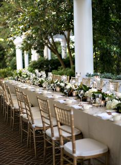 12 Decor Ideas for your Country Club Wedding - Inspired by This