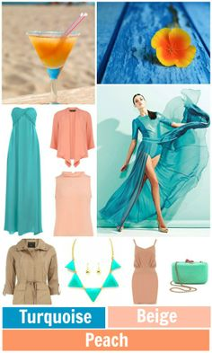 Fashion Color Palette: Turquoise - Beige - Peach | Pink Chocolate Break | Fashion Inspiration | Fashion Trends | Messy Bun Hairstyles | Lifestyle Blog | DIY Fashion | Fashion Color Palette | Beauty Tips | Nail Art Designs | Inspirational Quotes | Chocolate | Cupcakes | Travel