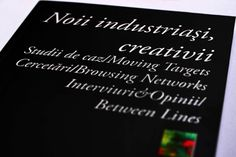 Noii industriasi, creativii o carte marca Formare Culturala  www.formareculturala.ro