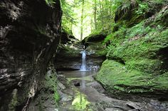 Turkey Run State Park, Indiana   This is one of my favorite state parks. Not too far, either.
