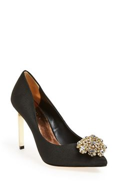 Gorgeous jeweled pumps
