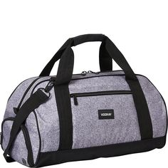 Vooray Burner Sport 21 Gym Bag with Shoe Pocket & Laundry Bag, Heather Gray Briefcase, Heather Grey, Gym Bag, 21st, Backpacks, Pocket, Sports, Stuff To Buy, Laundry