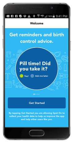 Gals:  Spot On is a fun(? their word) and simple way to track your menstrual cycle.