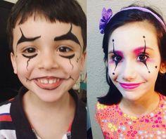 Inspirações de maquiagem infantil para Carnaval