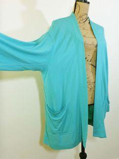 ART TO WEAR Ming Wang jacket lagenlook top artist designer upscale sz 1X #MingWang #BasicJacket #Evening